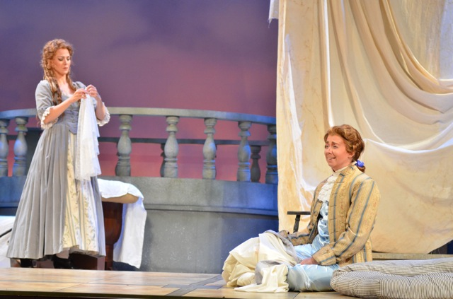 Cherubino in Le nozze di Figaro