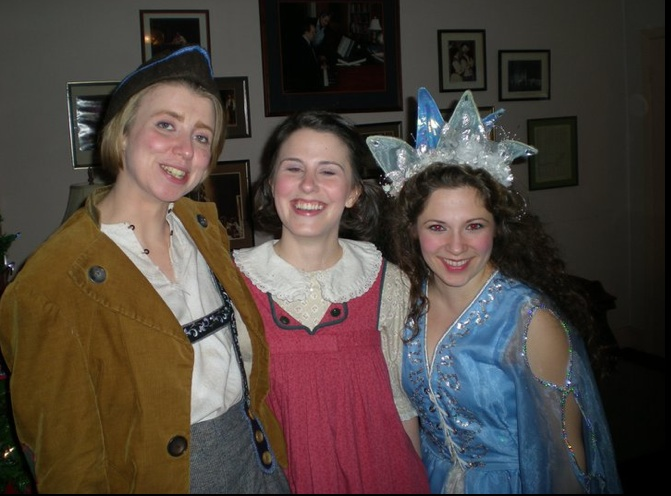 Hansel, Gretel, and the Dew Fairy