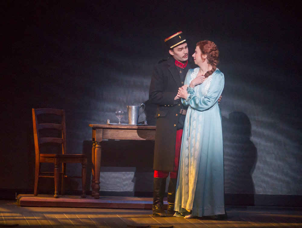 Madeleine Audebert in Silent Night at Opera San Jose