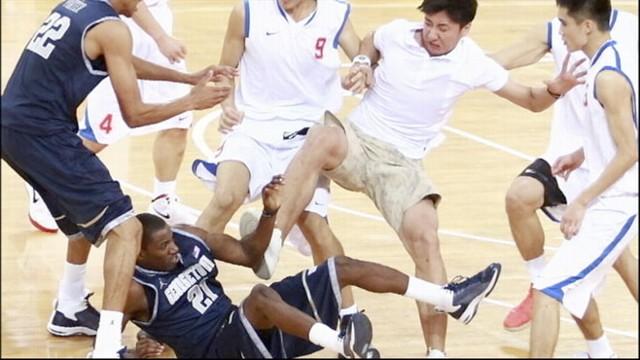 خرتو خری و بزن بزن در بسکتبال آسیا ابعاد تازه ای پیدا میکند