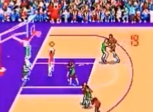 1986 Double Dribble, NES, Konami.png