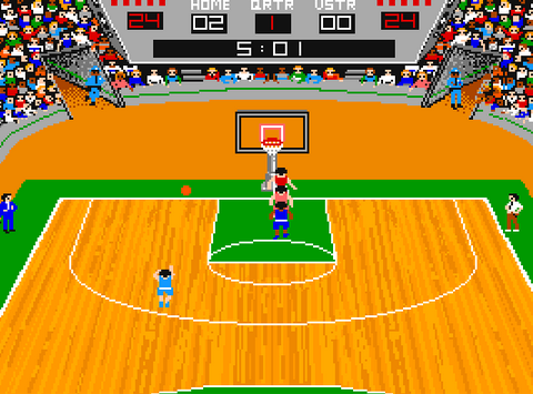 1987 GBA Championship Basketball Two-on-Two, Apple II, Gamestar.png