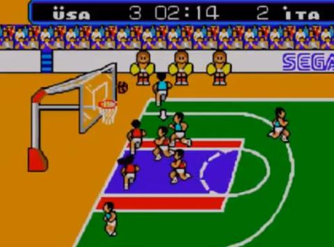 1987 Great Basketball, Sega Master System, Sega.png