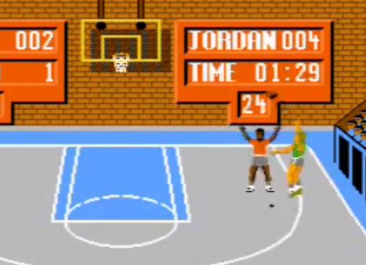 1988 Jordan vs. Bird One on One, NES, EA.png