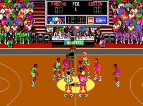1990 Lakers vs. Celtics and the NBA Playoffs, PC, EA.png