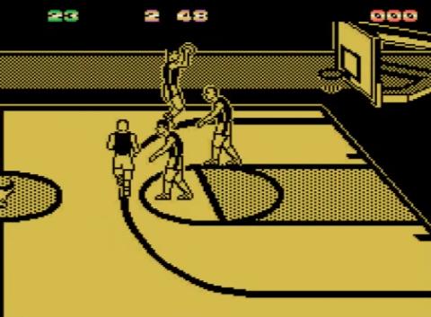 1990 Magic Johnson's Basketball, Commodore 64, Virgin Mastertronic.png