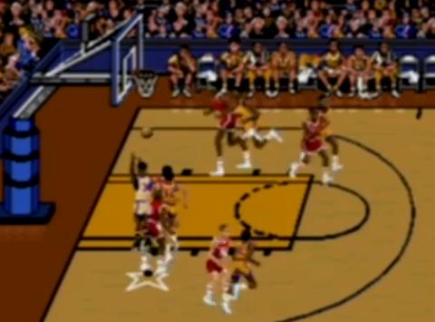 1991 Bulls vs. Lakers and the NBA Playoffs, Sega Mega DriveGenesis, EA.png