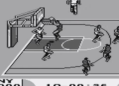 1991 Double Dribble 5 on 5, Game Boy, Konami.png