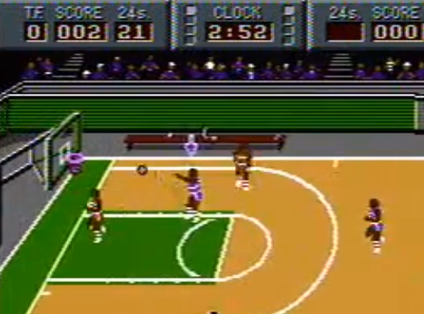 1991 Magic Johnson's Fast Break, NES, Tradewest.png