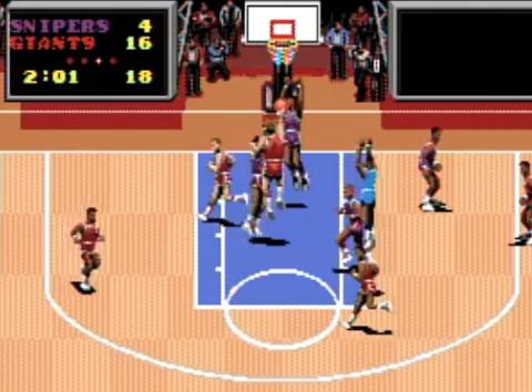 1991 TV Sports Basketball, TG16, CinewareNEC Interchannel.png