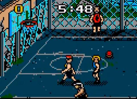 1992 Basketbrawl, Lynx, Hamilton and Associates.png
