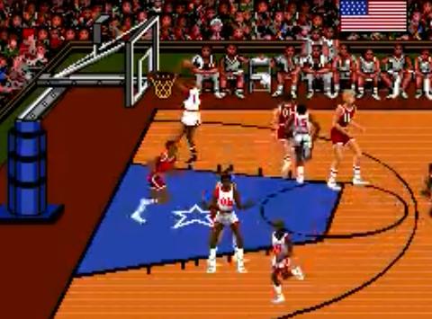 1992 Team USA Basketball, Sega Mega DriveGenesis, EA.png