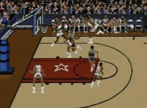 1993 Bulls vs. Blazers and the NBA Playoffs, SNESGenesis, EA.png