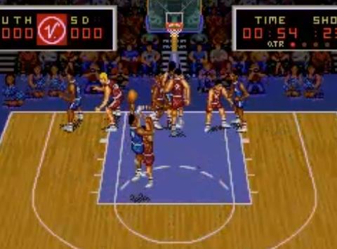 1993 Magic Johnson's Super Slam Dunk, SNES, Virgin.png