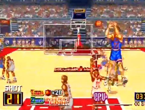 1993 Run and Gun, Arcade, Konami.png