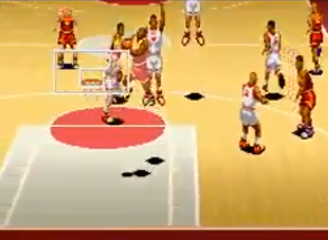 1994 Dream Basketball Dunk & Hoop, SNES, Human Entertainment.png