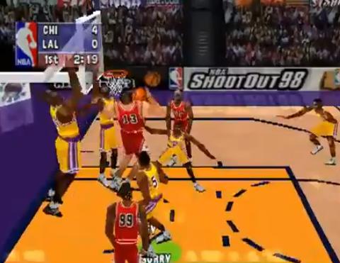 1998 NBA ShootOut 98, PS, SCEA.png