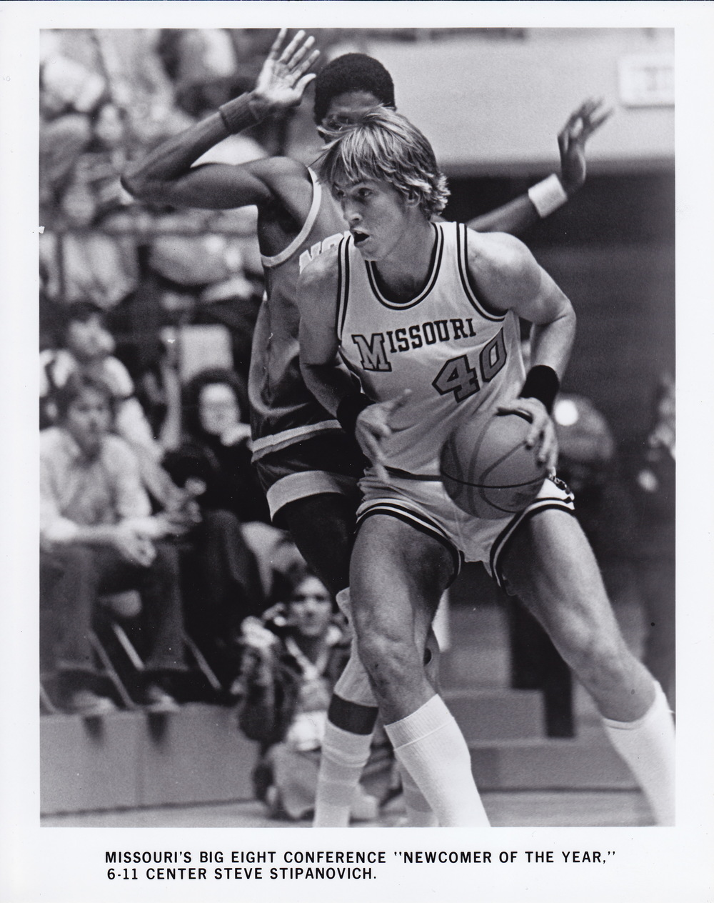 Steve Stipanovich, University of Missouri all-time leading scorer