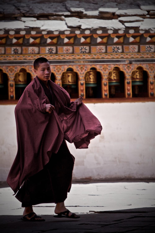 Monk in Paro Dzong.jpg