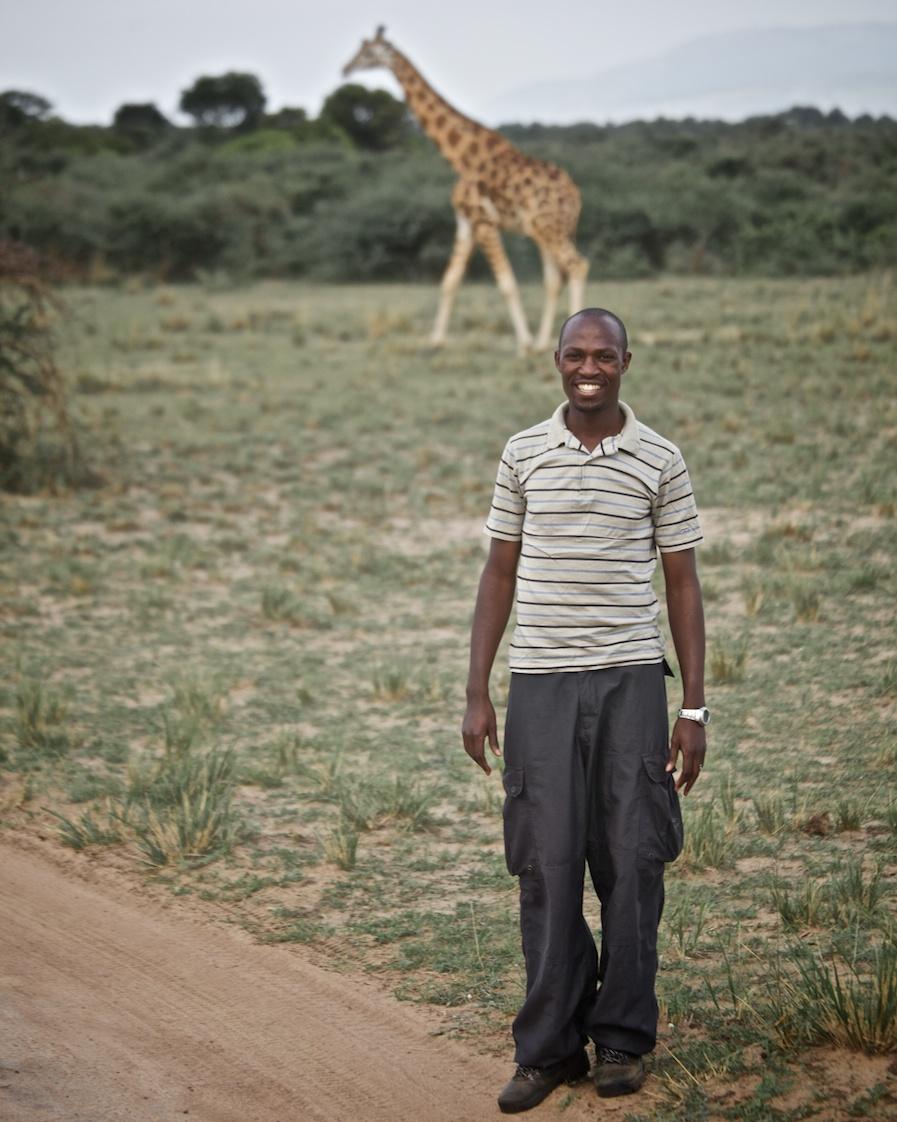 Habib in Murchison Falls National Park