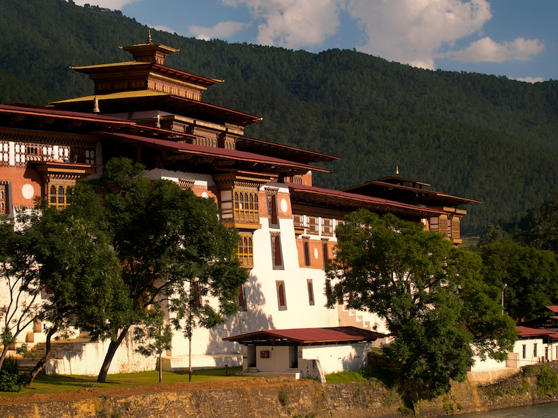 Punaka Dzong , just one of the many amazing Fortress/Monasteries