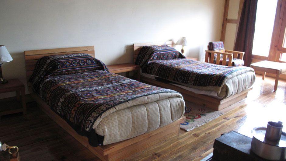 Dewachen Hotel room