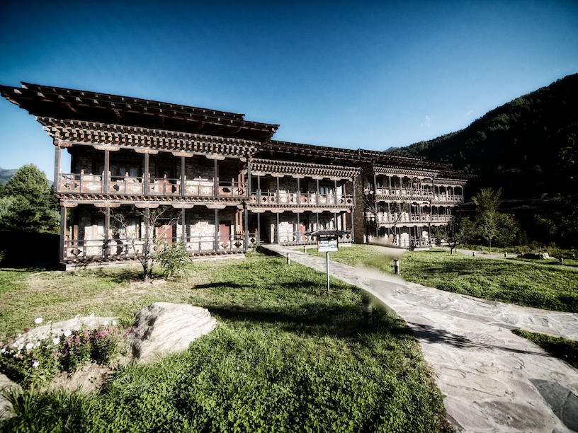 Zhiwa Ling hotel in Paro
