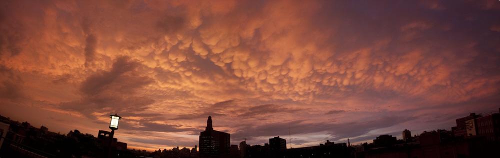 Mammatus Clouds over BK
