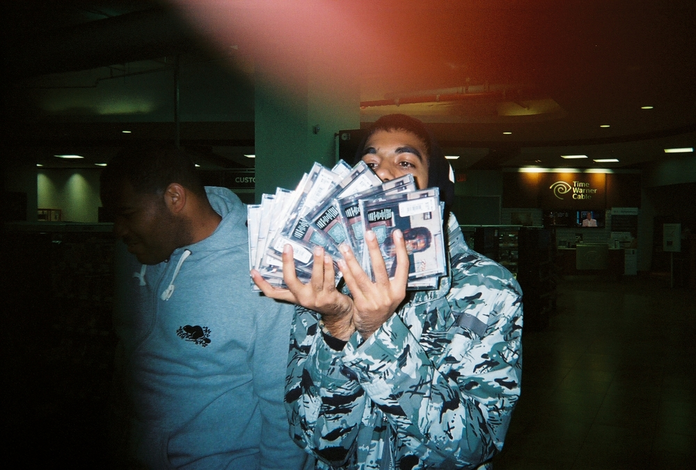 6 with all his copies of the album