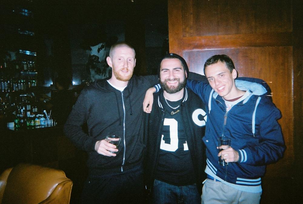 Bobby, Myself, Logic, album release night
