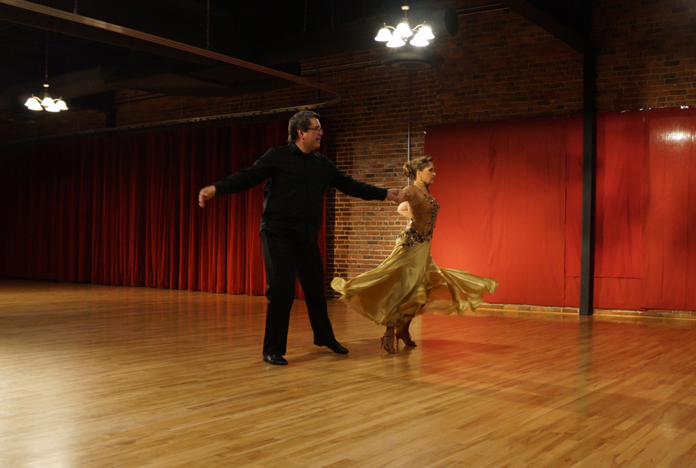 Scott Rogge and Shelley Fritz performing American Tango