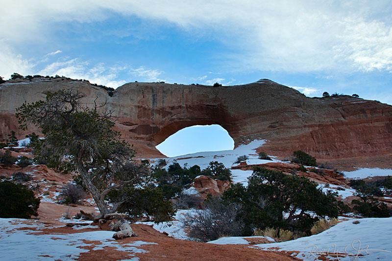 Wilson Arch, near Moab, UT.