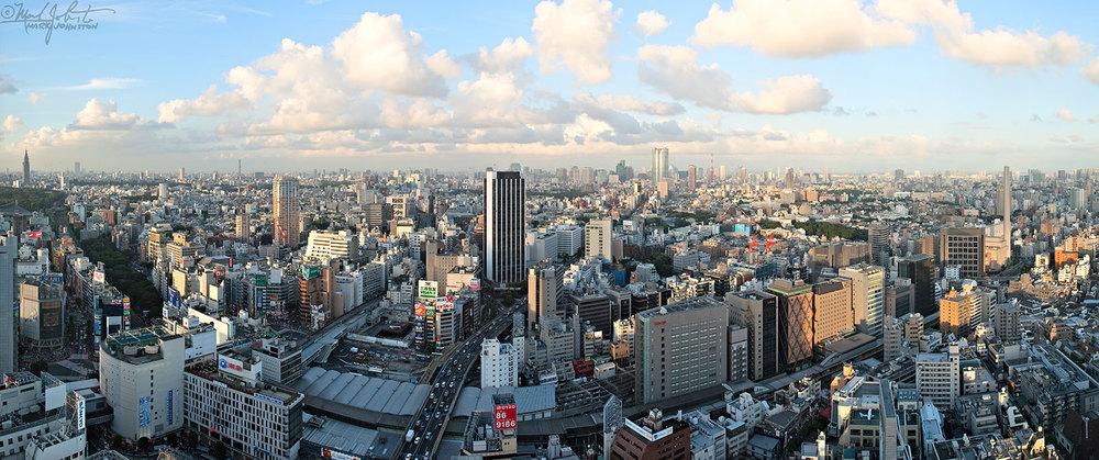 Tokyo's Shibuya district.