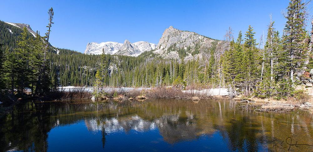 Fern Lake, Rocky Mountain National Park.
