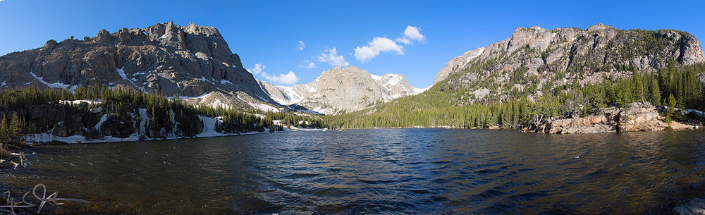 The Loch, Rocky Mountain National Park.