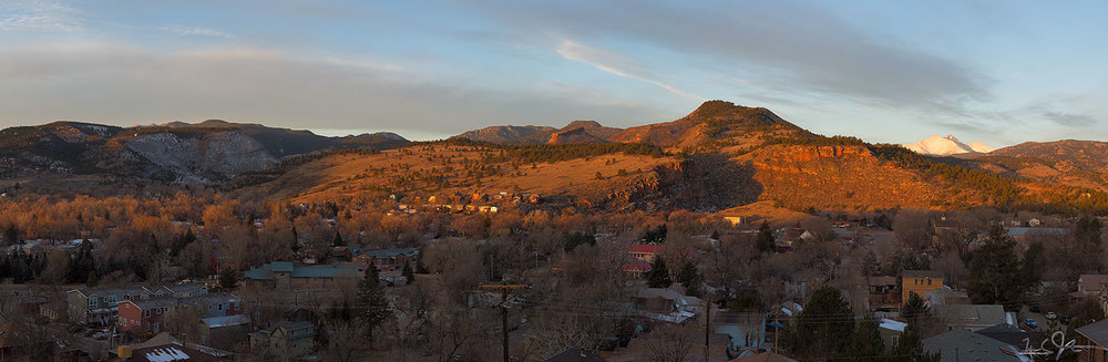 Lyons, Colorado.  Thanksgiving Day 2013.