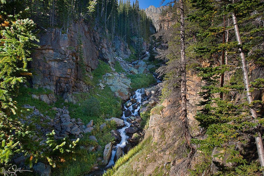 Glacier Creek below The Loch.