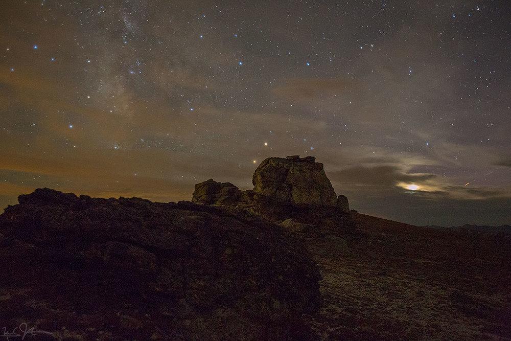Near Mushroom Rocks, Trail Ridge Rd., Rocky Mountain National Park.