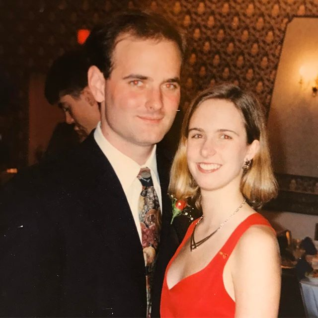 23 years ago today we went on our first date (this isn't a picture from that date, but shortly thereafter)