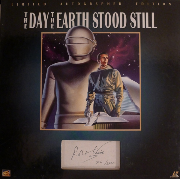 The Day The Earth Stood Still.   1995 Limited edition laser disc (2500 pieces)
