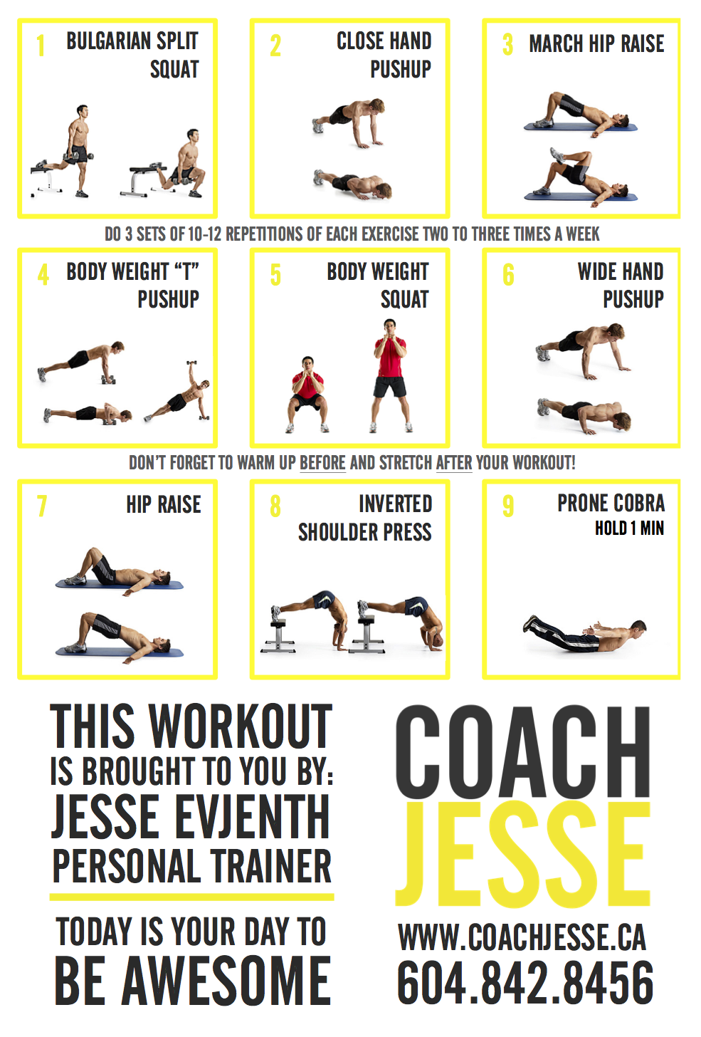 Coach Jesse Free Workout