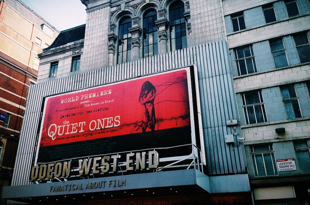 BLOG: The Quiet Ones Premiere