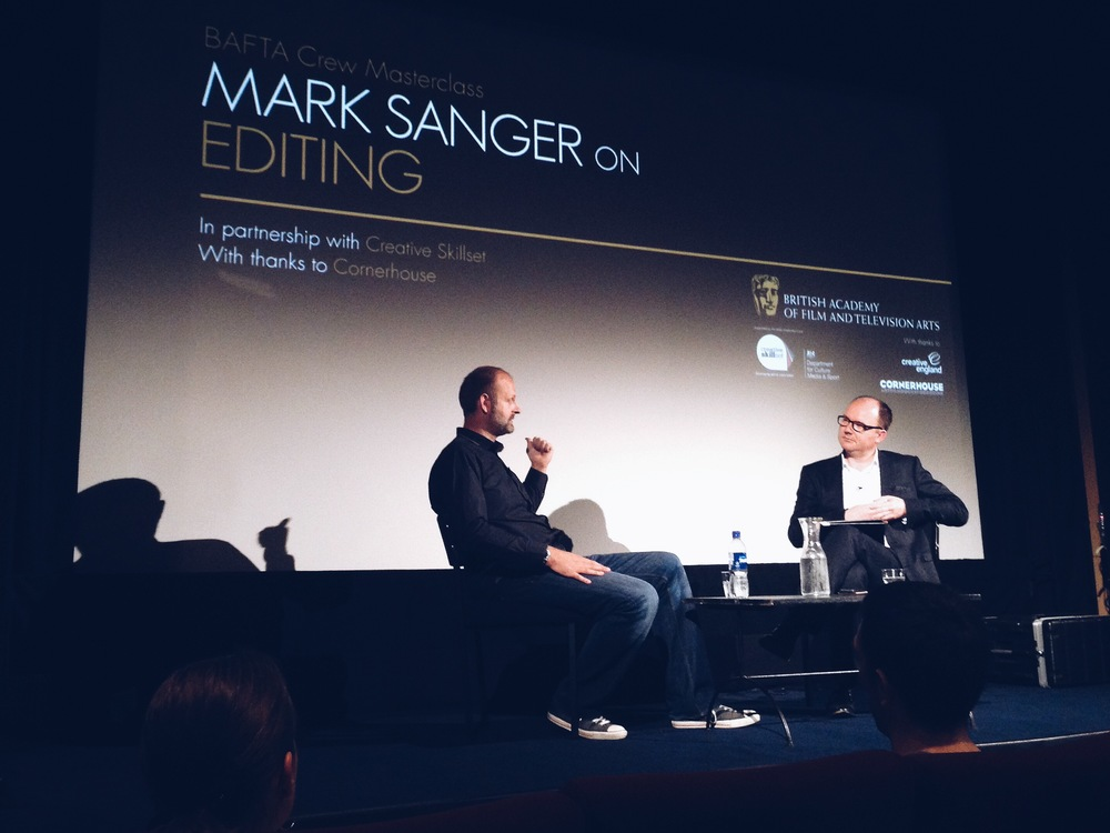 BLOG: Mark Sanger | BAFTA Masterclass | Gravity Co-Editor