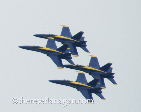 4 Blue Angels - Chicago Air Show 2012