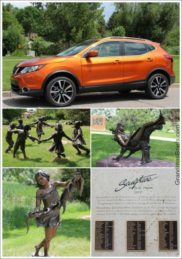 nissan rogue benson sculpture park
