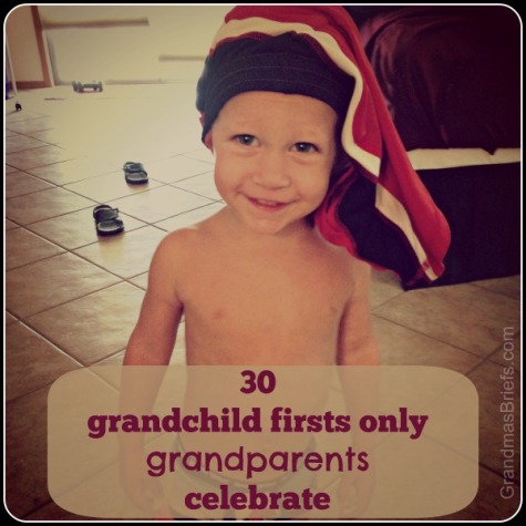 30 grandchild firsts that only grandparents celebrate