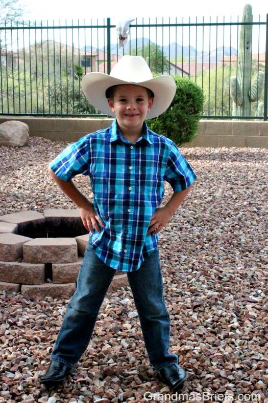 first-grade cowboy