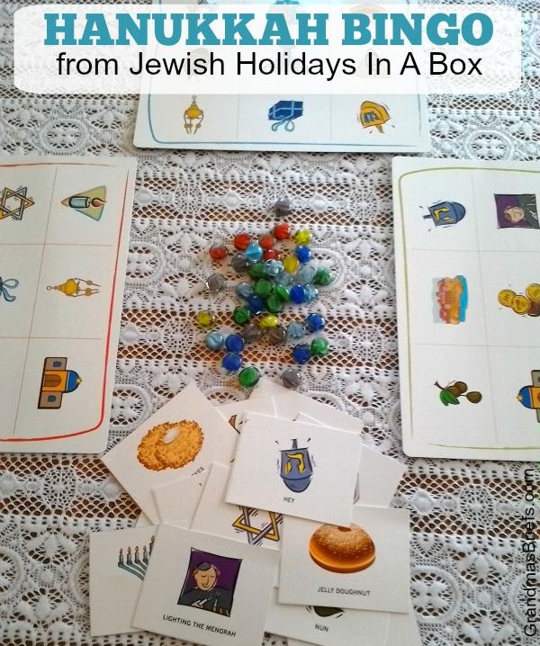 Hanukkah bingo game