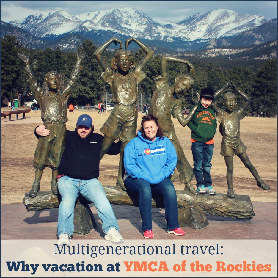 why vacation at the ymca of the rockies