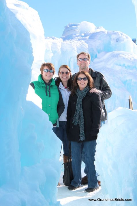 Ice Castle at Breck